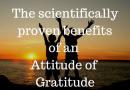 5 proven benefits of gratitude