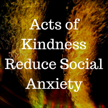 reduce social anxiety
