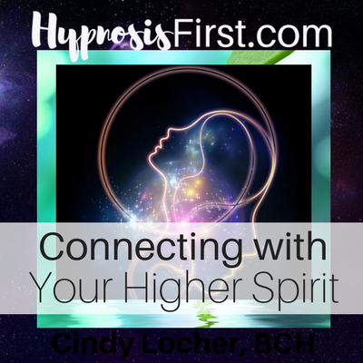 Connect Higher Power hypnosis download art