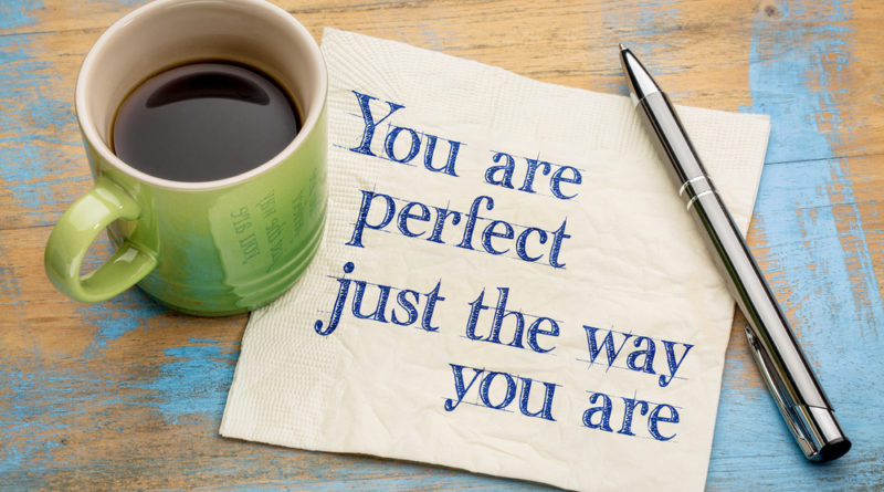 you are perfect just the way you are image