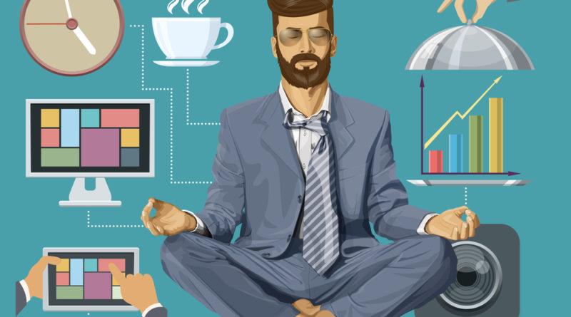 Meditation CEO boardroom image