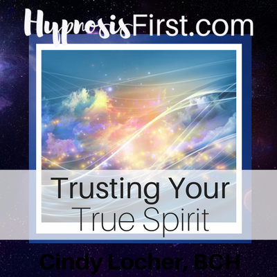 Trust Your True Spirit hypnosis download cover art